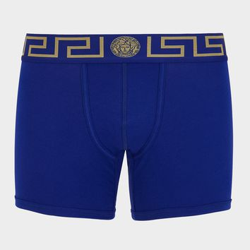 Versace Greca Border Boxer Briefs for Men | US Online Store