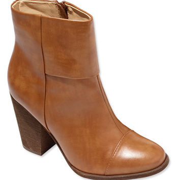 Women's Signature Leather Ankle Boots   Free Shipping at L.L.Bean