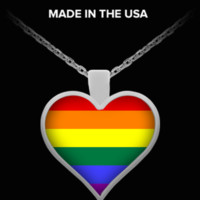 Rainbow Pride Necklace r-pride