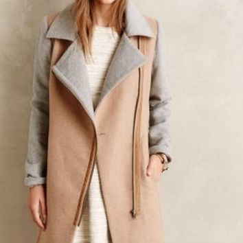 Diplomat Coat by Cartonnier Beige