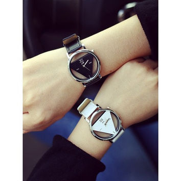 Fashion Hollow Out Style Quartz Watch for Students Lovers Gifts [8069814663]
