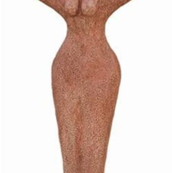 Nathor Nile River Bird Arms Woman Body Egyptian Goddess Statue 11H
