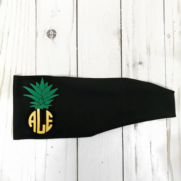 personalized pineapple monogram