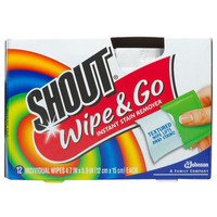 SC Johnson 02246 Shout Wipes