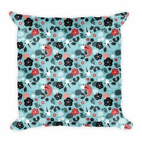 Pillow Koi Fish Green