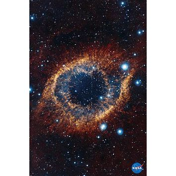 HELIX NEBULA POSTER Space Astrology NASA RARE HOT NEW 24x36