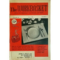 Workbasket April 1955 Volume 20 Number 7 Magazine Knit Needlecraft Gifts wb207
