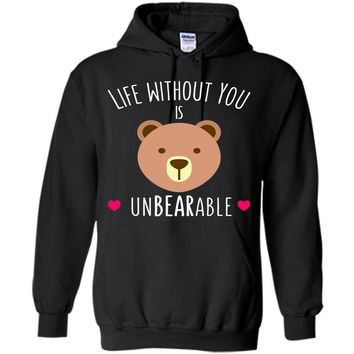 Funny Valentines Day Gifts for Her Him: unBEARable Shirts