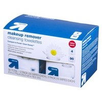 Up & Up Makeup Remover Cleansing Towelettes - 90 ct