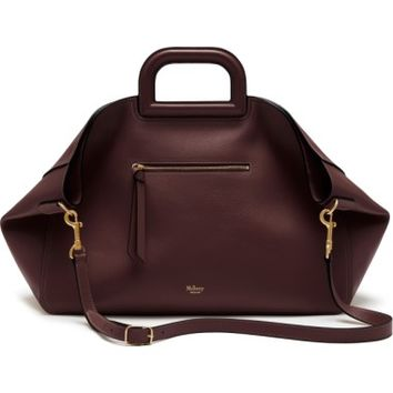 Mulberry Brimley Leather Satchel | Nordstrom
