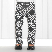 Black and White Print Leggings for 18 inch Girl Dolls American Doll Clothes