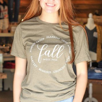 {H. Olive} FALL Description Tee