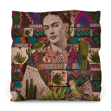 Viva La Vida Outdoor Throw Pillow
