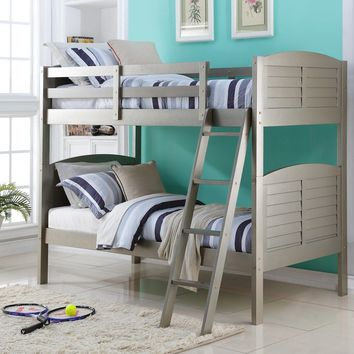Aaliyah Grey Bunk Bed for Kids