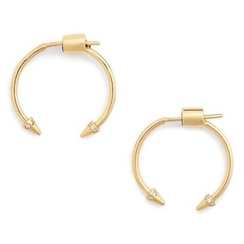 IAM by Ileana Makri Spike Hoop Earrings | Nordstrom
