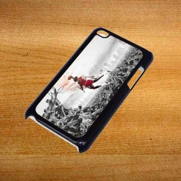 DCKL9 MICHAEL JORDAN new slam dunk Design For iPod Touch 4 Case *76*