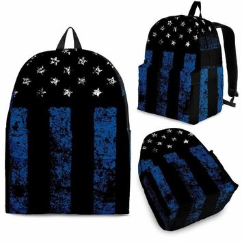 Police & Fire Flag Backpack