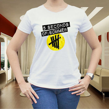 5 second of summer for women t shirt men t shirt tshirt cotton clothing
