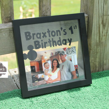 Personalized Birthday Memory Frame