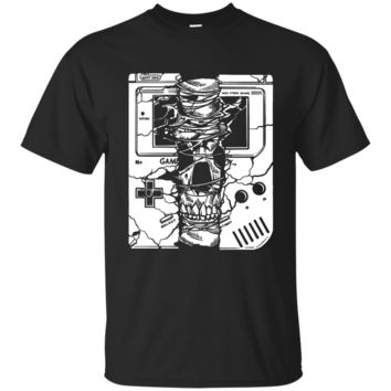 Game boy Skull Men's or Ladies Tee Shirt