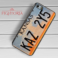 kansas plat number-iy4h for iPhone 4/4S/5/5S/5C/6/ 6+,samsung S3/S4/S5,S6 Regular,S6 edge,samsung note 3/4