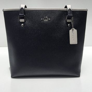 Coach BI ColorBlock Zip Tote F59855