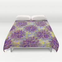 Abstract Cactus Duvet Cover by Sandra Arduini