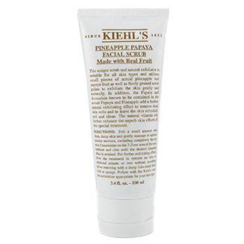 Kiehl's Pineapple Papaya Facial Scrub With Real Fruit Extracts Skincare