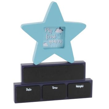 Star Baby Keepsake Frame with Chalk Blocks - £10.00 - The Contemporary Home