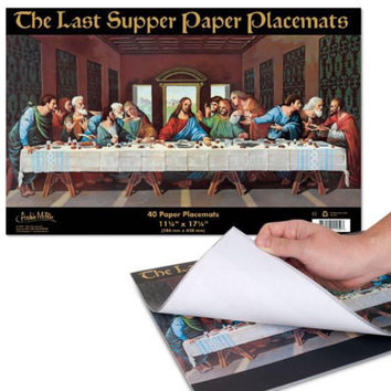 Last Supper Placemats