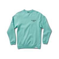 Diamond Life Crewneck Sweatshirt in Diamond Blue