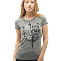 Women's Gray Every Saint Every Sinner Shirt