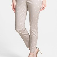 Women's NYDJ 'Clarissa' Print Stretch Twill Skinny Crop Pants