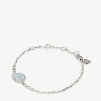 THE ALKEMISTRY Meira T 14ct white gold, aqua and diamonds bracelet