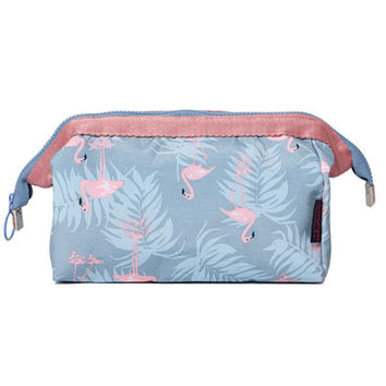 Flamingo Large Capacity Organizer Makeup Bag Cosmetics Bag Stuff Handbag Cosmetic Kit Storage Bag