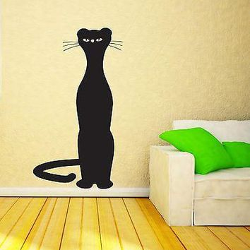 Wall Sticker Vinyl Decal Bagheera Back Panther Tiger Fictional Character Unique Gift (n162)