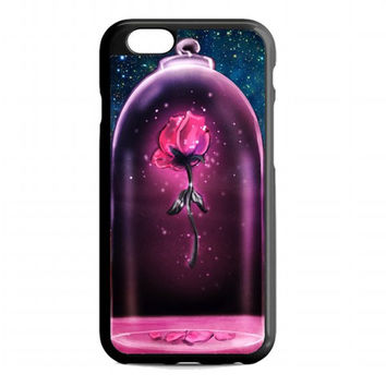 rose beauty and the beast For iphone 6s case