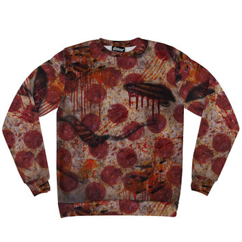 Pizza Zombie Sweatshirt