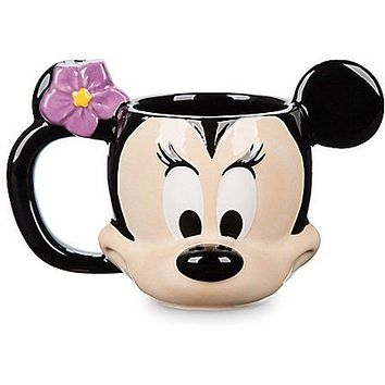 Disney Aulani a Disney Resort & Spa Minnie Ceramic Coffee Mug New with Box