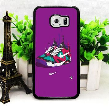Nike Sneakers Art Sports Brand Purple Samsung S7 | S7 Edge Cases