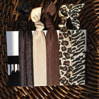 Life of Luxury Elastic Hair Ties (and bracelets) Collection