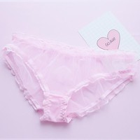 Japanese Harajuku Cute&Sexy Transparent Undies SD02397