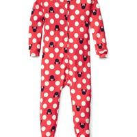 babyGap | Disney Baby Minnie Mouse footed sleep one-piece | Gap