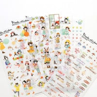 Heeda Transparent Sticker Set