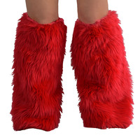 Rave Fluffies Red