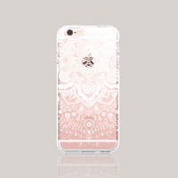 iPhone 6s Case Clear Winter iPhone 6s Case White Henna iPhone 6 Plus Clear Lace iPhone Case iPhone 6 Case Wedding iPhone Case Samsung S6