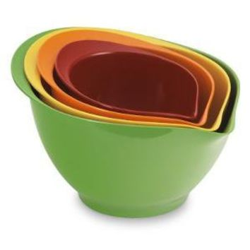Melamine 4-Piece Mixing Bowl Set, Multicolored | Williams-Sonoma