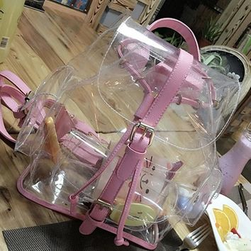 Kawaii Clear Backpack