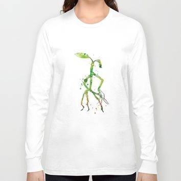 Pickett Bowtruckle Long Sleeve T-shirt by MonnPrint