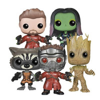 Guardians of The Galaxy Bobble-Head Figures